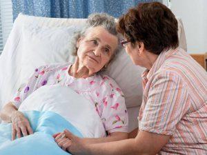 уход за пожилыми при подагре