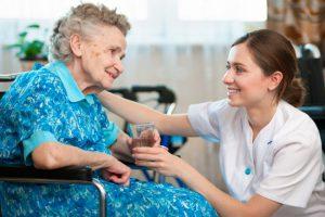 Условия проживания в доме престарелых